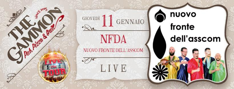 Giovedì 11 Gennaio ★ Nuovo fronte dell'asscom ★ party band