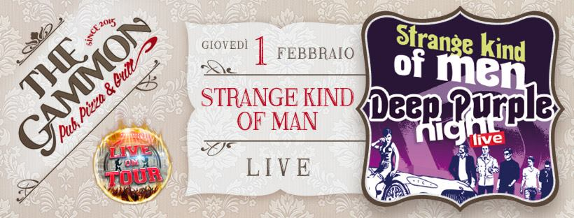 Gio 01 Febbraio: ★Strange kind of Men★ Deep Purple tribute