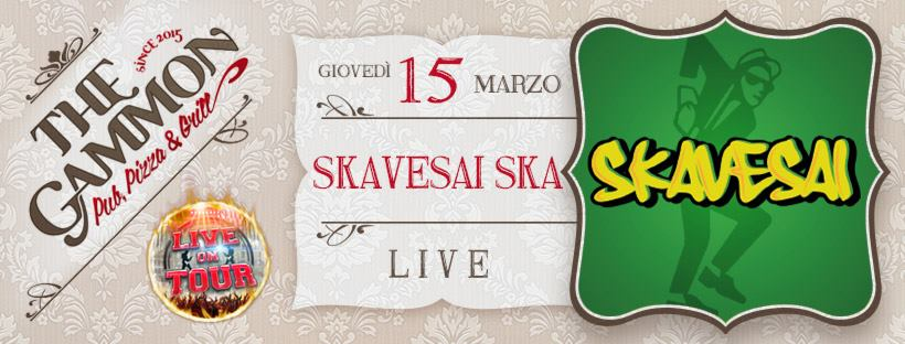 Gio 15 Marzo: New entry ★ Skavesai ★ SKA-Reggae-Rocksteady