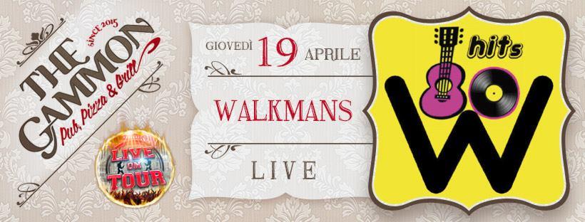 Giovedì 19 Aprile ★Walkman's 80★ Cover band