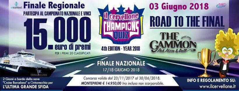 Domenica 03 Giugno ★Cervellone★ Finali Regionali