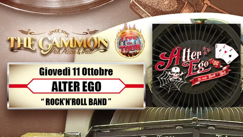 Giovedì 11 Ottobre Alterego //Rock'n roll band//