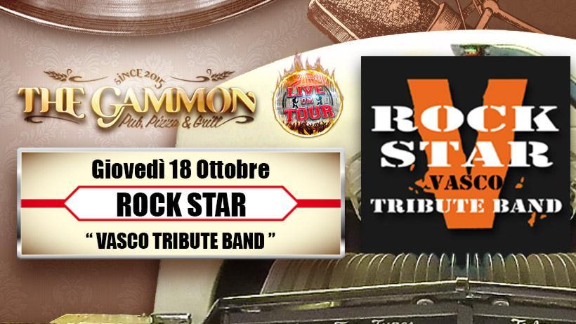 Giovedì 18 Ottobre Rock Star //Vasco tribute band//
