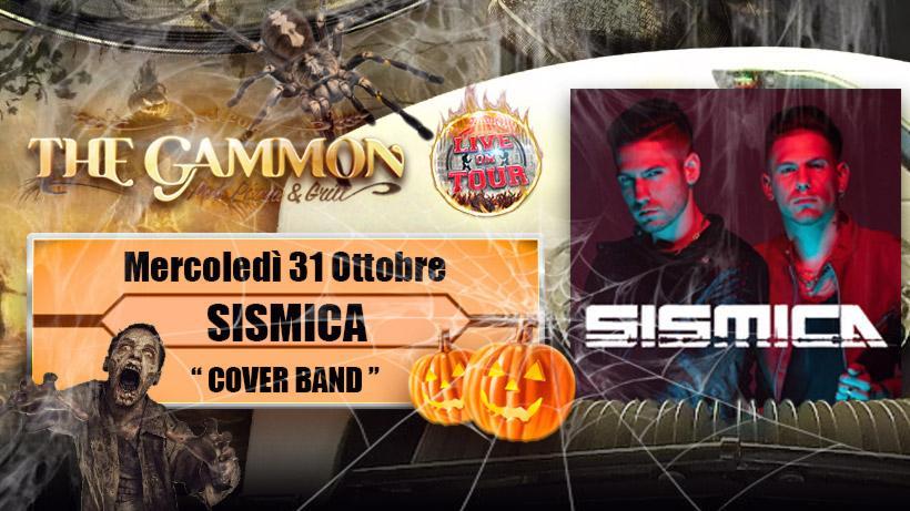 Mercoledì 31 Ottobre – Halloween Night Sismica //Party band (Novità)//