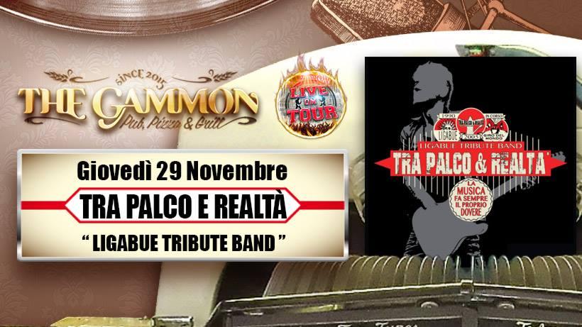 Giovedì 29 Novembre: //Tra Palco e Realtà// LIGABUE tribute