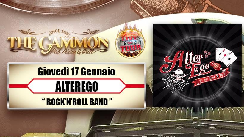 Giovedì 17 Gennaio //Alterego// Rock'n Roll Band