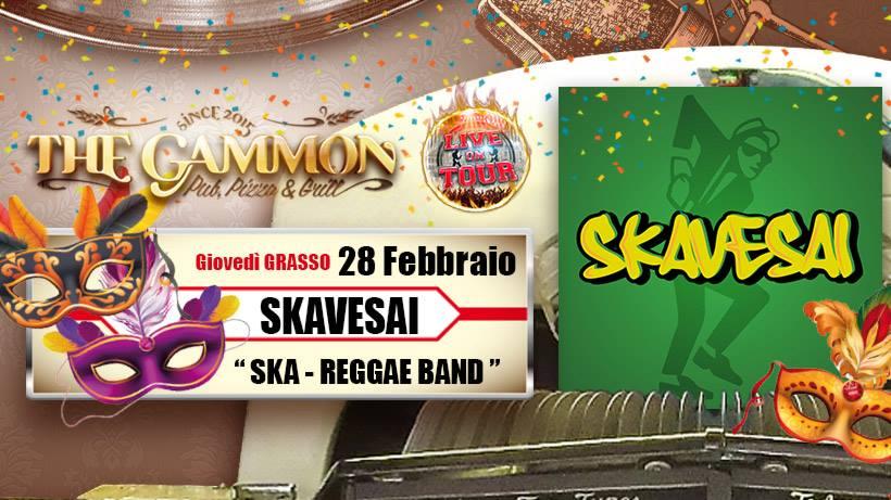 Giovedì 28 Febbraio: //Skavessai// Ska & Reggae band