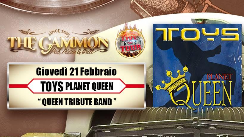 Giovedì 21 Febbraio: //TOYS// Queen Tribute
