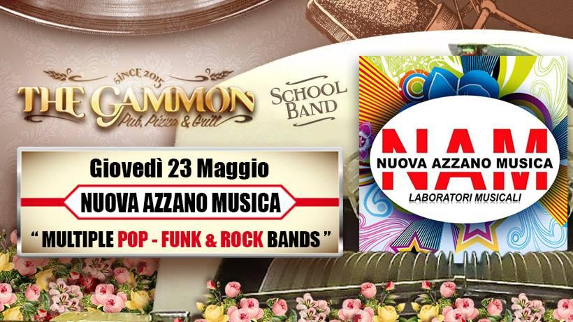 Giovedì 23 Maggio // NAM // Pop Funk Soul