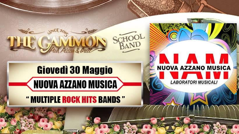 Giovedì 30 Maggio // NAM // Rock Hits