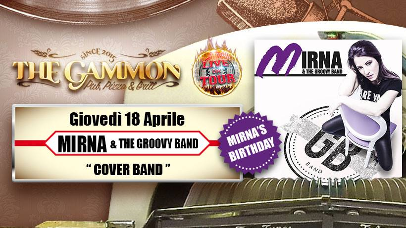 //Mirna & Groovy band// Happy Birthday MIRNA