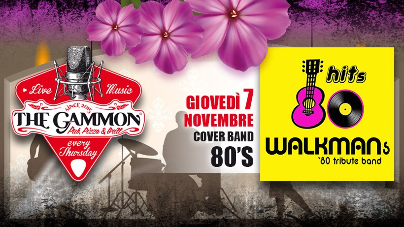 Giovedì 07 Novembre – Walkmans – 80's music tribute