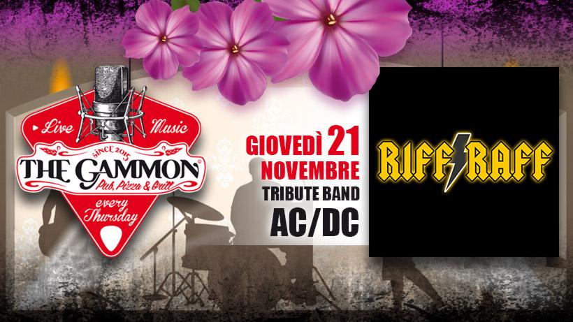 Giovedì 21 Novembre – Riff Raff – AC/DC tribute band
