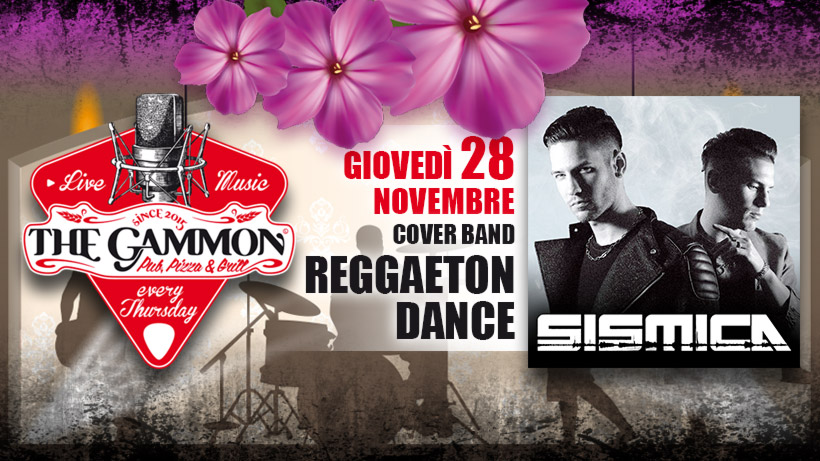 Giovedì 28 Novembre – Sismica – Reggaeton & Dance
