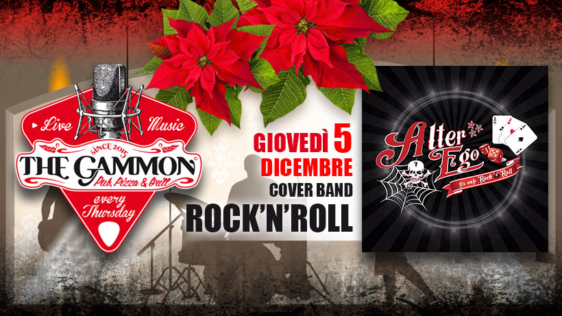 Giovedì 05 Dicembre – Alterego Rock'n Roll