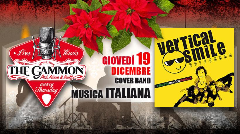 Giovedì 19 Dicembre – Vertical Smile – Musica Italiana