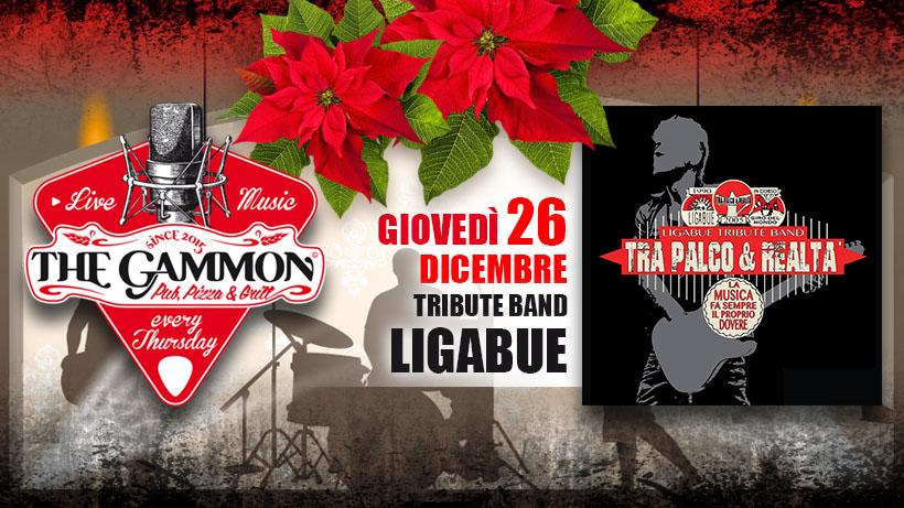 Giovedì 26 Dicembre – Tra Palco e Realtà Ligabue Tribute