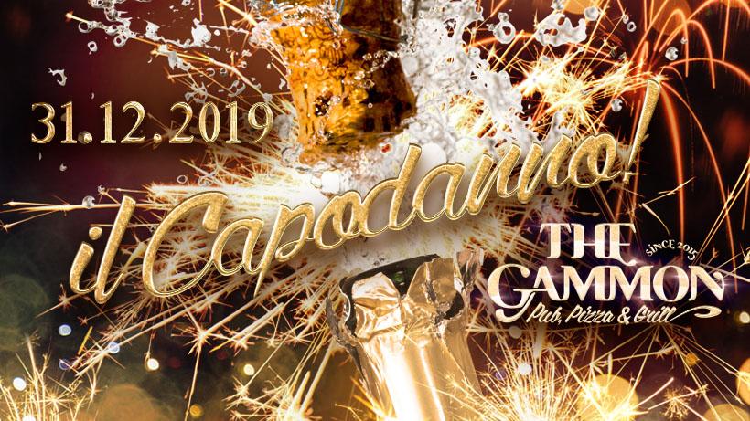 ★ Capodanno 2019 ★ Cena & Musica – The Gammon