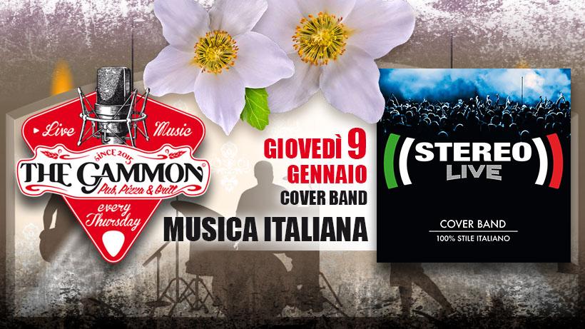 Giovedì 09 Gennaio – Stereolive – Stile Italiano