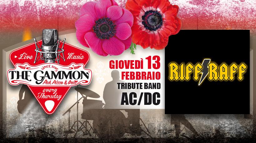 Giovedì 13 Febbraio – RIF RAF – AC/DC tribute
