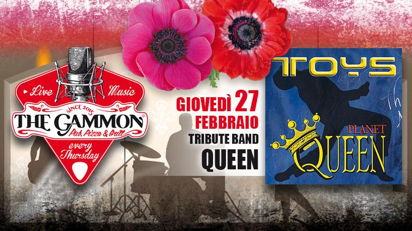 Giovedì 27 Febbraio – TOYS – Queen Tribute