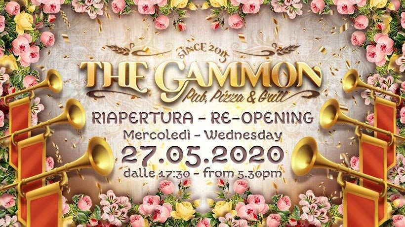 Riapriamo! – Re-Opening!
