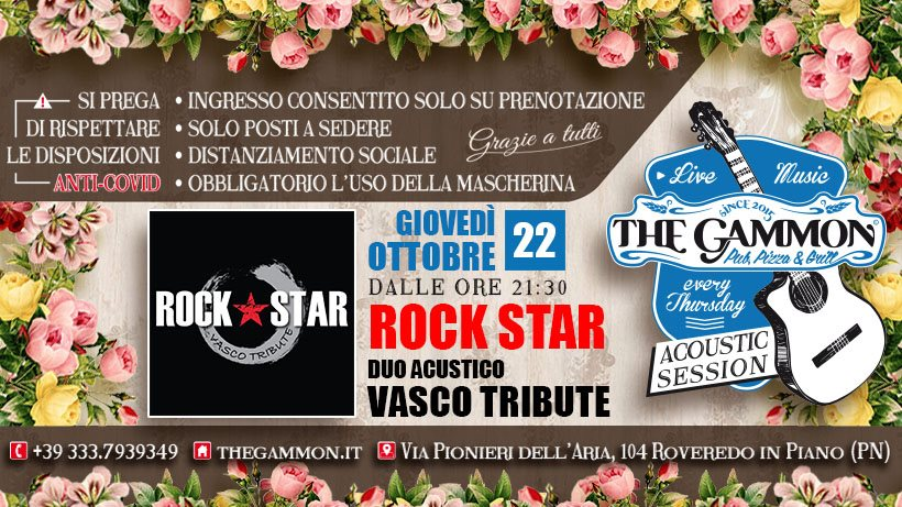 Rock Star – Vasco Rossi Tribute