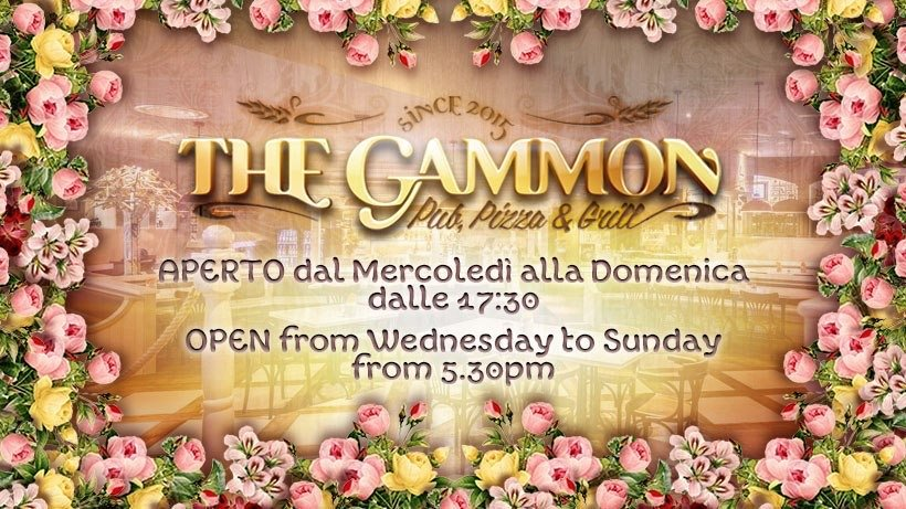 the gammon orari apertura